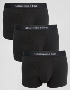 3 пары боксеров-брифов Abercrombie & Fitch - Черный
