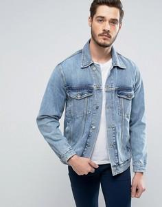 Джинсовая куртка Calvin Klein True Icon - Синий