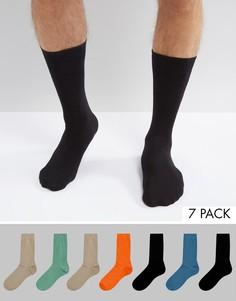 7 пар носков ASOS - Мульти