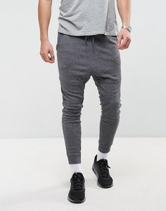 Спортивные штаны заниженного кроя Jack & Jones - Темно-синий