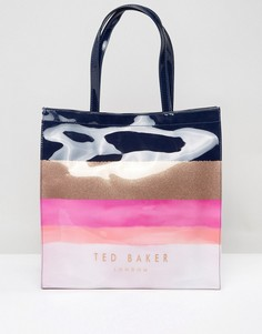 Большая сумка с логотипом Ted Baker Delcon - Мульти