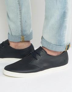 Низкие кожаные кроссовки Fred Perry Byron - Темно-синий