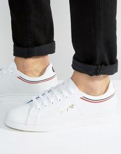 Кожаные кроссовки Fred Perry Sidespin - Белый