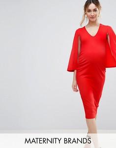 Платье-кейп Bluebelle Maternity - Розовый