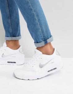 Белые кроссовки Nike Air Max 90 Ultra 2.0 875695-103 - Белый
