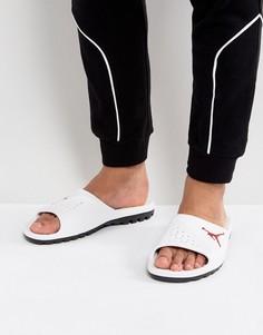 Белые шлепанцы Nike Jordan Super Fly Team 716985-102 - Белый