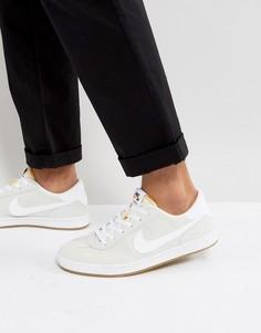 Белые кроссовки с каучуковой подошвой Nike SB FC Classic 909096-111 - Белый