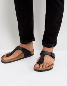 Черные сандалии Birkenstocks - Черный
