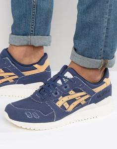 Синие кроссовки Asics Gel-Lyte III Veg Tan H7E2N 4971 - Синий