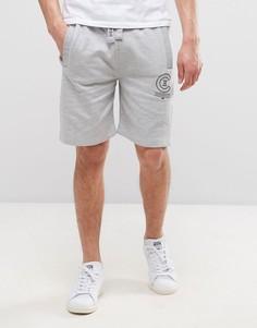 Трикотажные шорты с логотипом Crosshatch - Серый