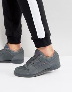 Серые кроссовки Reebok Workout BS8439 - Серый
