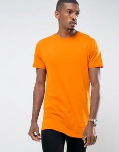 Длинная футболка Brave Soul - Оранжевый