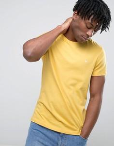 Желтая футболка с логотипом в виде фазана Jack Wills Sandleford - Синий
