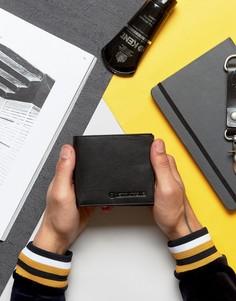 Классический бумажник с отделениями для карт Lambretta - Черный