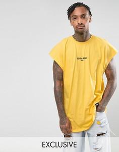 Желтая футболка без рукавов Sixth June - Желтый