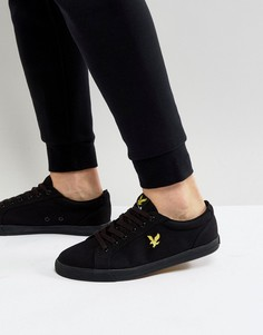 Черные кеды Lyle And Scott Hawker - Черный