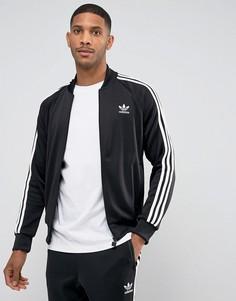 Черная спортивная куртка adidas Originals Superstar BK5921 - Черный