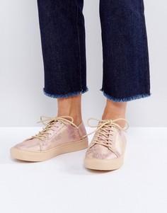 Кроссовки на шнуровке ASOS DATE NIGHT - Мульти