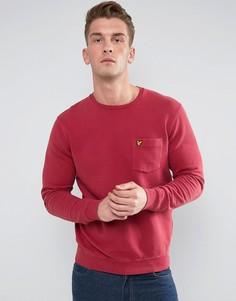 Красный свитшот Lyle & Scott - Красный