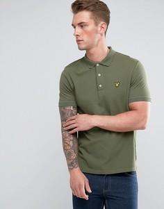 Зеленая футболка-поло Lyle & Scott - Зеленый