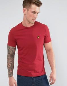 Красная футболка Lyle & Scott - Красный
