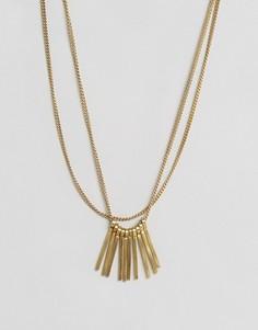 Ожерелье с бахромой Made - Золотой
