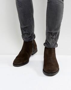 Замшевые ботинки AllSaints - Коричневый