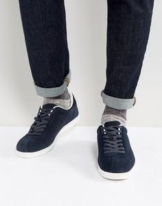 Темно-синие замшевые кроссовки Lambretta Gazman - Синий