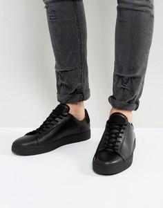 Низкие кеды AllSaints - Черный