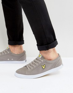 Серые кеды Lyle And Scott Hawker - Серый