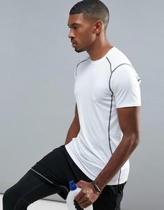 Белая футболка с коротким рукавом New Look SPORT - Белый