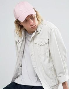Розовая саржевая кепка Nike SB H86 828635-612 - Розовый