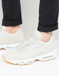 Серые кроссовки-премиум Nike Air Max 95 538416-003 - Серый