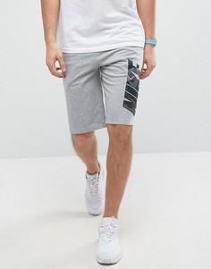 Серые трикотажные шорты Nike 833876-063 - Серый