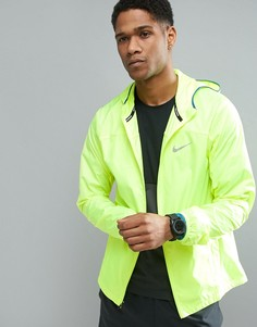 Желтая куртка Nike Running Shield Racer 800492-703 - Желтый