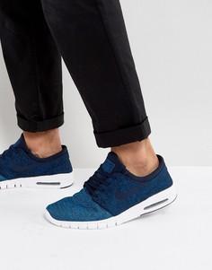 Синие кроссовки Nike SB Stefan Janoski Max 631303-444 - Синий