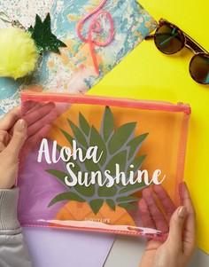 Мешочек для бикини с ананасами Sunnylife - Мульти