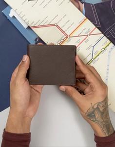Классический кожаный бумажник Dead Vintage - Коричневый