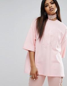 Свободная футболка с круглым вырезом Puma X Fenty - Розовый