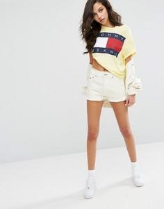 Шорты с завышенной талией Tommy Jeans - Желтый