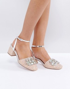 Туфли на каблуке с декоративной отделкой ASOS SOMETHING SPECIAL - Мульти