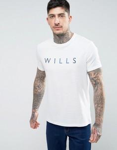 Белая футболка с логотипом Jack Wills Westmore Wills - Белый