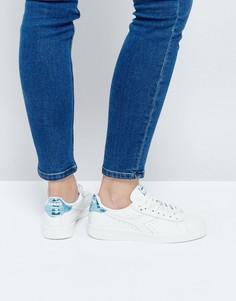 Кроссовки с голографической отделкой сзади Diadora Game - Белый