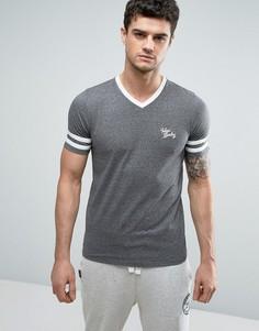 Выбеленная бейсбольная футболка Tokyo Laundry - Серый