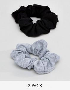 2 трикотажные резинки для волос ASOS - Мульти