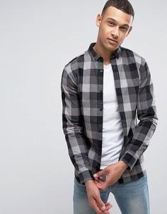 Рубашка в клетку Jack & Jones - Серый