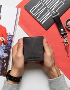 Бумажник с отделением для монет и карт Lambretta - Коричневый