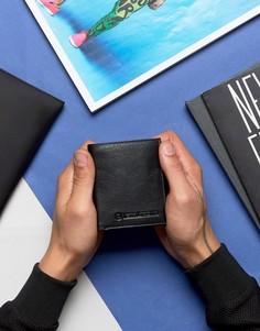 Бумажник с отделением для монет и карт Lambretta - Черный