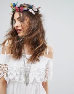 Украшение для волос с бабочками Orelia - Мульти