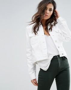 Джинсовая куртка J Brand Isla - Синий